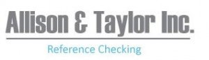 Allison & Taylor, Reference Checking