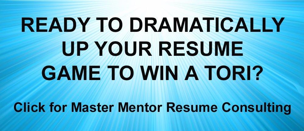 TORI Master Mentor