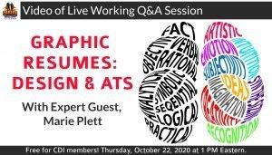 Graphic Resume Design Meets ATS Video