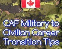 Pinpointing Transferable Skills from the Canadian Armed Forces to the Civilian Work Sector