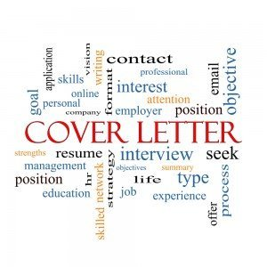 Cover Letter Word Cloud Concept with great terms such as interview, resume, summary and more.