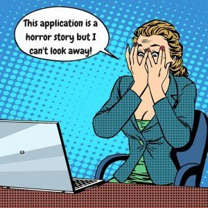 application horror