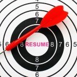 dart board - professional resume writer helps you hit the mark