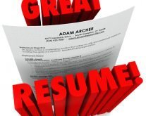 Your Resume: Career Snapshot, Not Your Life Story