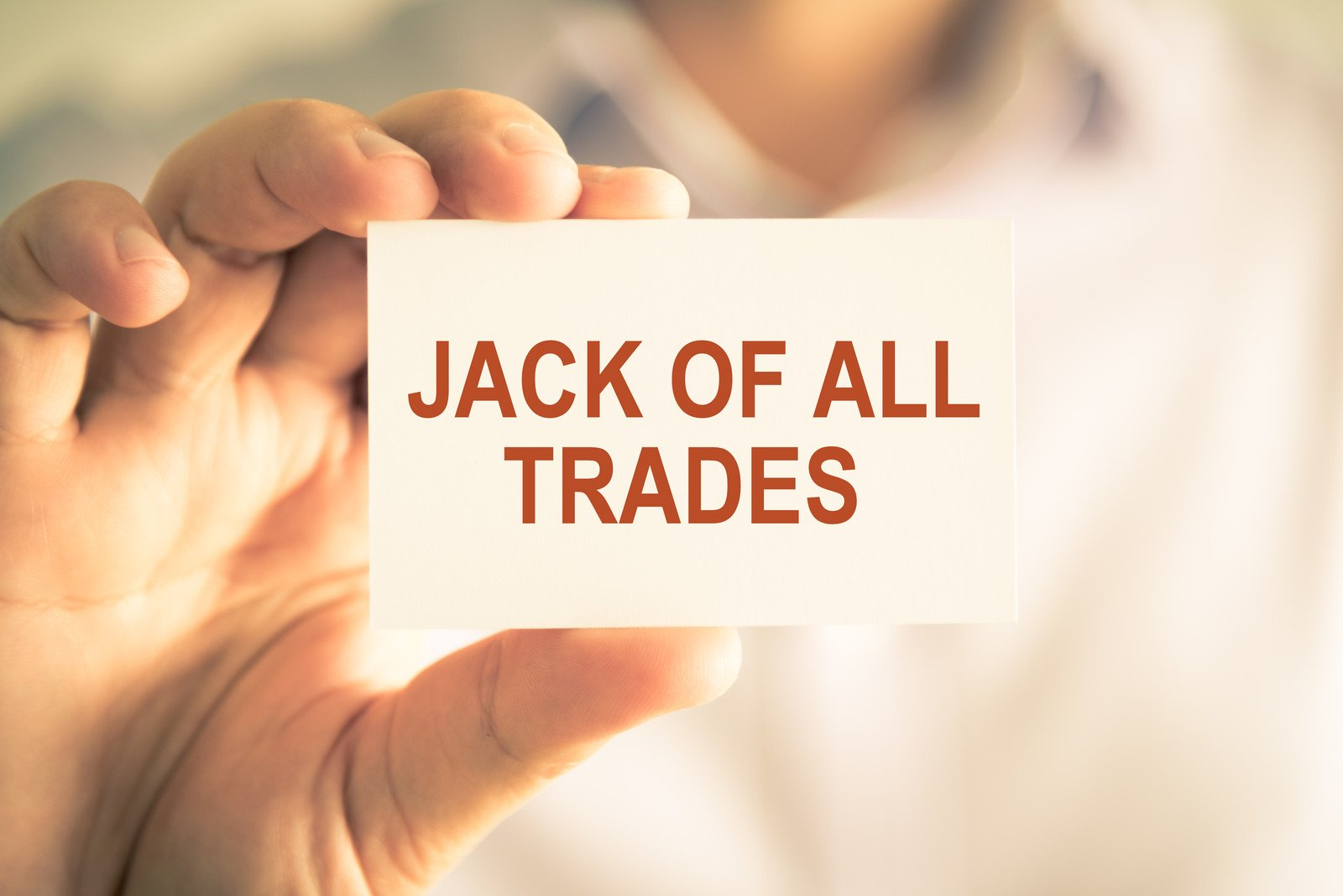 executive resumes  avoid the jack of all trades dilemma