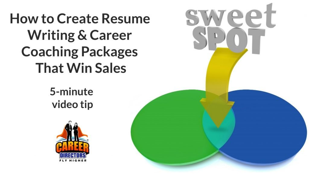 How to Create Resume Writing and Career Coaching Packages That Win Sales
