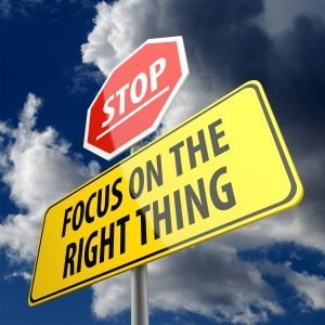 What you focus on is what you will sell
