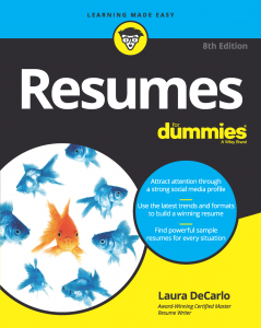 Resumes for Dummies 8th Ed