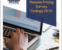 2019 Resume Pricing Survey Findings (Report)