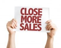 Close More Sales Sign