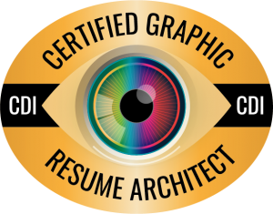 CDI resume writer certification logo: Certified Graphic Resume Architect (CGRA)