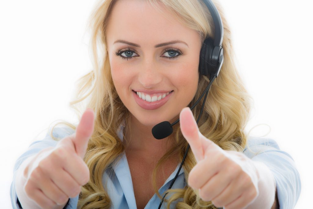 Handling cold calls with a smile