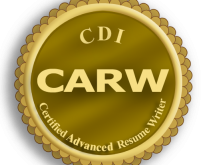 Certified Advanced Resume Writer certification logo