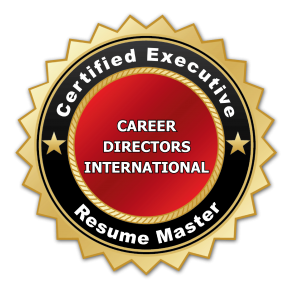 Certified Executive Resume Master resume writer credential