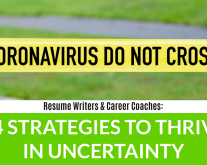 How resume writers and career coaches can thrive despite coronavirus