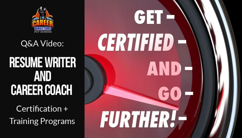 CDI Options for Resume Writer Certification & Career Coach Certification