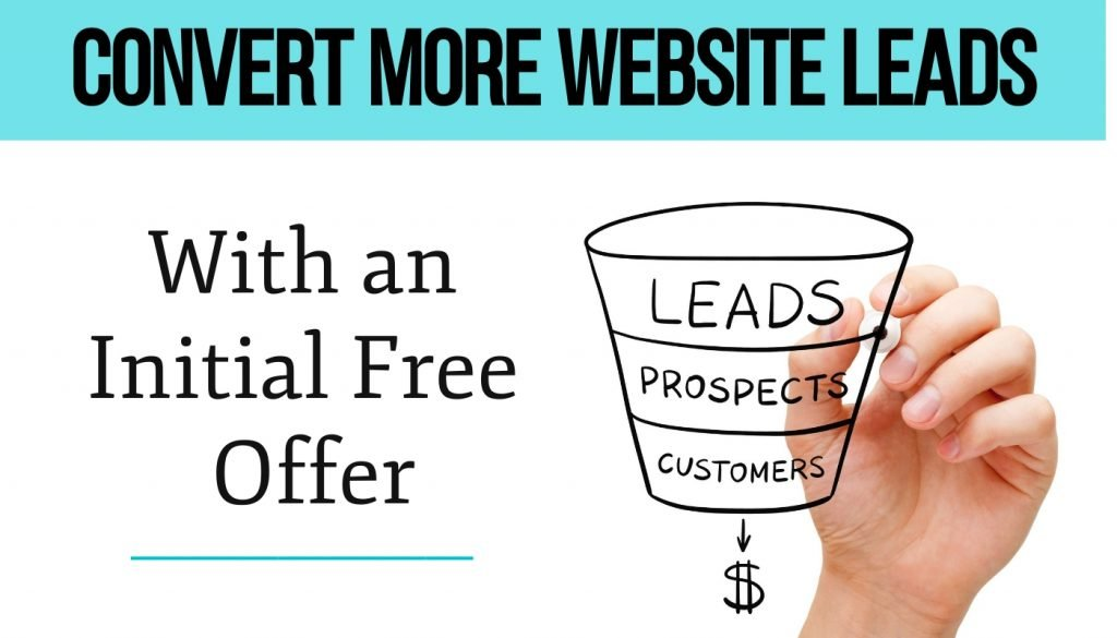 Website Initial Free Offer Video Tip