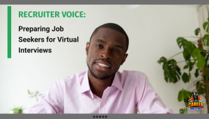 Recruiter Voice on Virtual Job Interviews