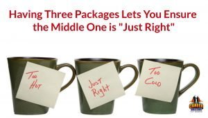 How to have resume and career services packages that make for a just-right sale