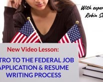 Federal-Resume-Writing-Process-Video-Lesson