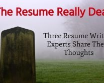 Is the resume really dead?
