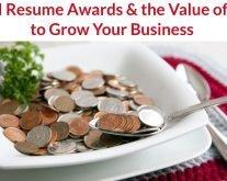 TORI Resume Writing Awards Value of $40 Grow Business
