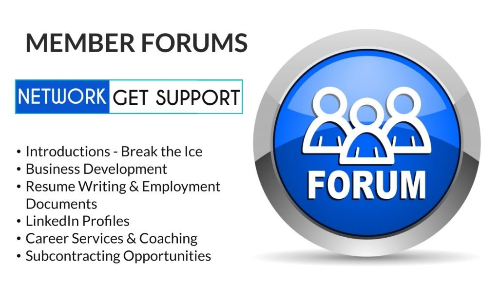 Network and get support on the forum
