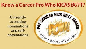 CDI's Pat Schuler Kick Butt Award Nominations are Now Open