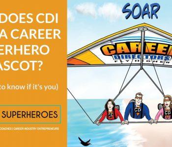 CDI Career Superhero Mascot