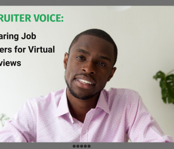 Recruiter Voice on Virtual Job Interviews
