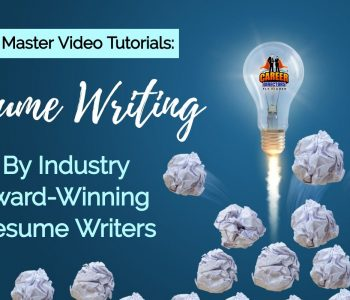 Resume Writing Video Tutorial Lessons by TORI Award-Winning Resume Writers